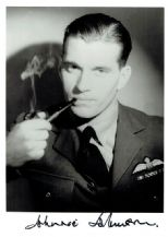Air Vice-Marshal Johnnie Johnson Autograph Signed Photo